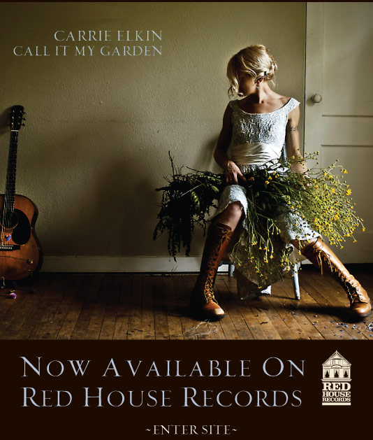 Carrie Elkin - Call It My Garden - Enter Site